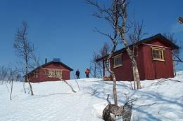 Det er flott skiterreng rundt hytta. Vær obs på at anleggsveien opp på fjellet er stengt om vinteren slik at det er 16 km innmarsj på ski - Foto: Arne Sklett Larsen
