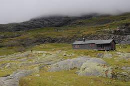 Holmavatnhytta - Foto: Kjell Helle-Olsen