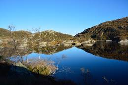 Langs Morgonsvatnet -  Foto: Roald Årvik
