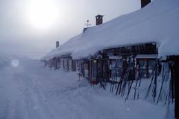 Litlos, en vindfull vinterdag - Foto: Hilde L. Magnussen