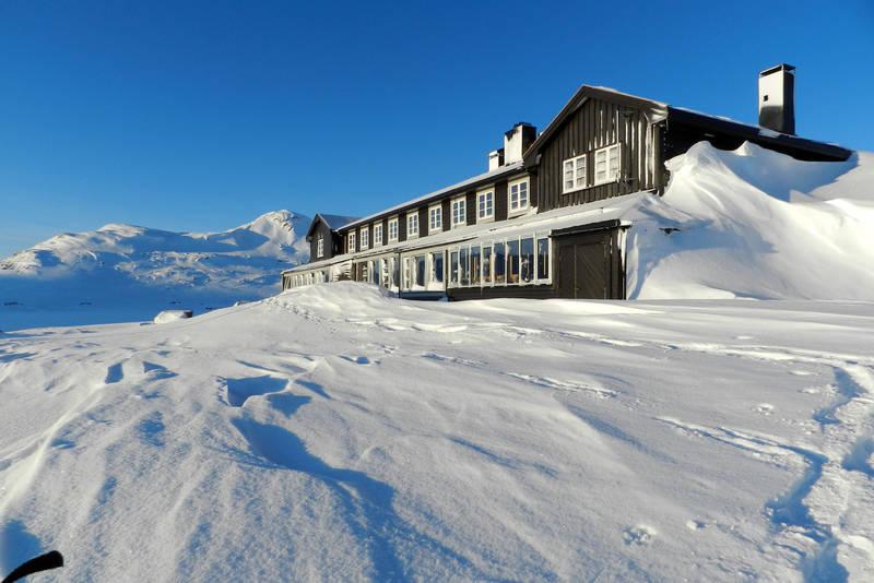 Vakkert med vinter på Finse