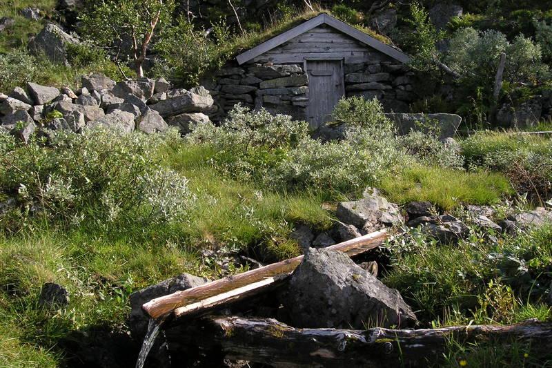 Seter ved Jøldalshytta