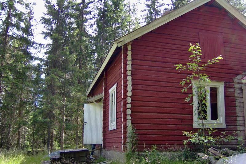 ubetjent hytte, Brandval Finnskog, Finnskogen Turistforening