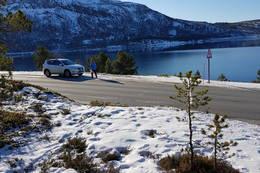 Her parkerer du - Foto: Kjell Fredriksen
