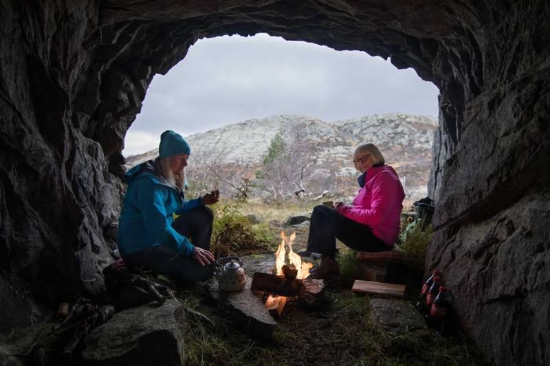 Bragold gruve. Foto Adam Read/VisitSørlandet