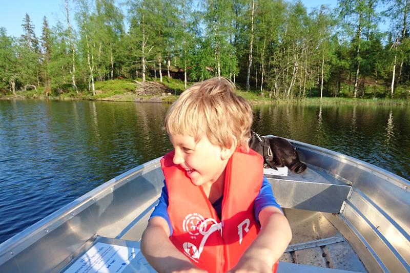 Hytta passer fint for barn og unge