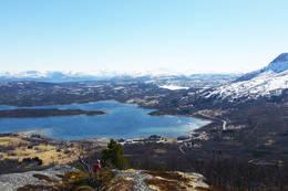 Utsikt mot Botn - Foto: Kjell Fredriksen