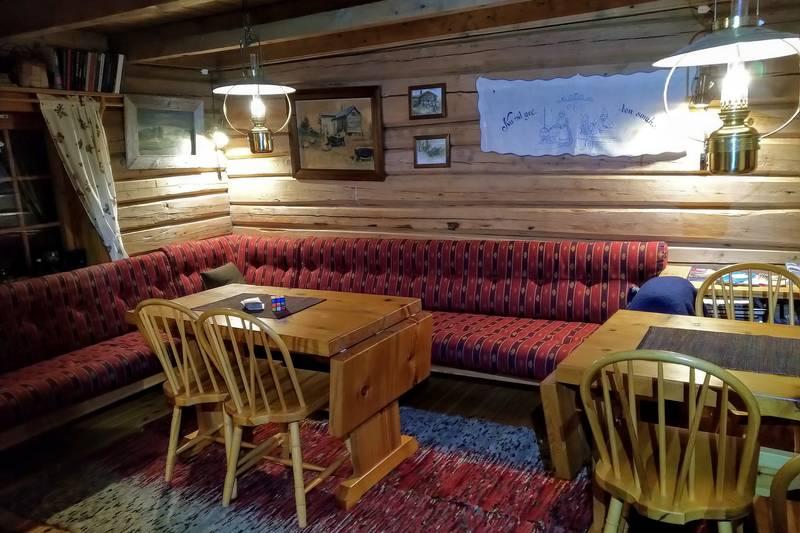 Fine hytter med god standard kjennetegner hyttene på Fjordruta