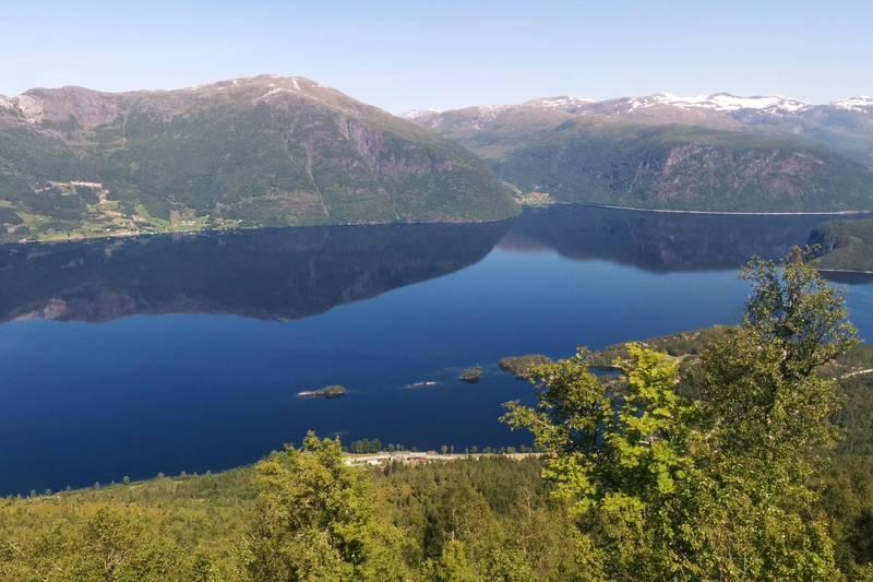 Utsikt fra Sætrefjellet