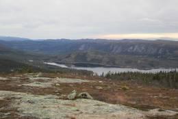 Utsikt fra Høgdefjell mot Strøen -  Foto: Ole-Petter Andersen
