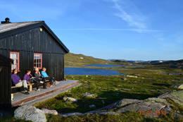 Tjørnbrotbu verandaen - Foto: Ola Belland