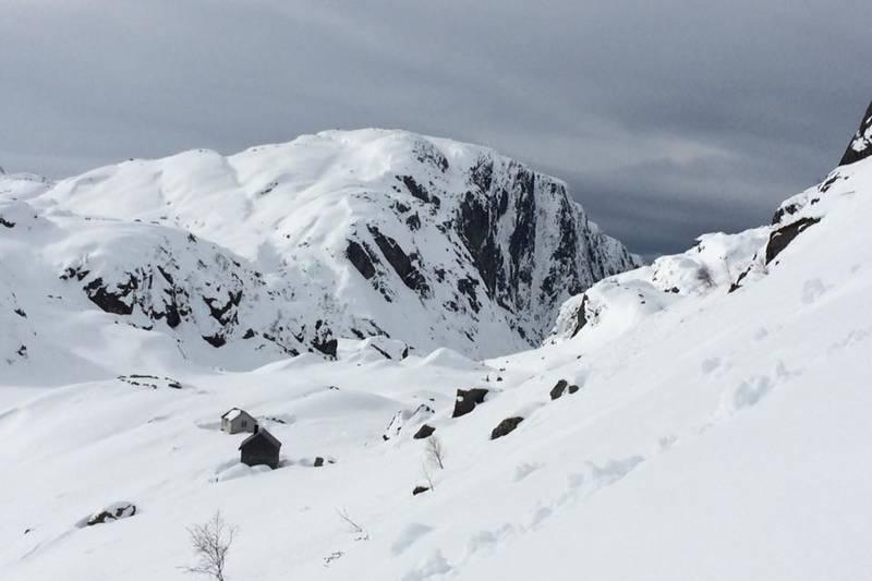 Grasdalen i vinterbekledning
