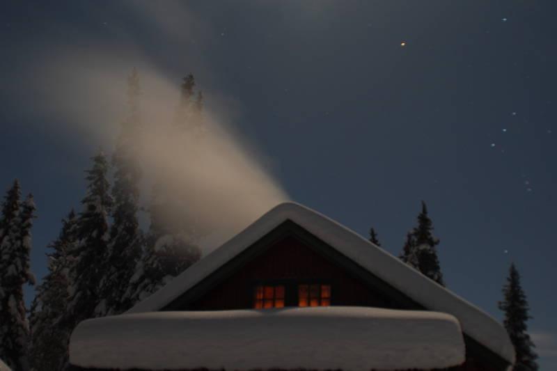 Skolla leirsted i Åstdalen, Hedmark - nyttårsaften 2009