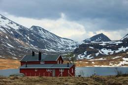 Måsvassbu med Måsvatnet i bakgrunnen -  Foto: Martin Gjellestad