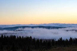 Over skyene, ved Hornsjø Høyfjellshotell - Foto: Jan Gunnar Bjørke