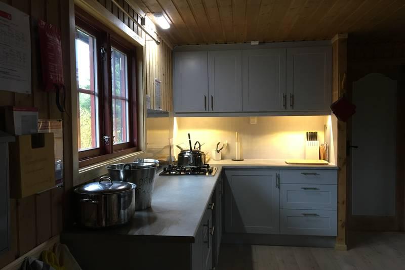 Kjøkkenet på Djupslia