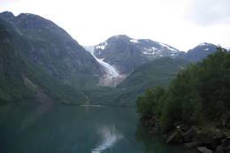 Bondhusbreen sett fra Bondhusdalen - Foto: Sunniva Vatle