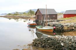 Fiskarheim ved Halshamarvik. - Foto: Kjartan Godø