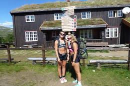 Klar for ny dag og ny tur. - Foto: Frode Støre Bergrem