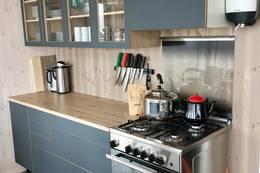 Kjøkken med gasskomfyr - Foto: Kristian Jakobsen