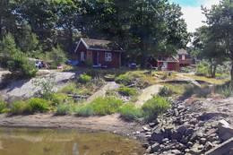 Gullholmen ligger utenfor Jeløya i Moss med utsikt over havområdet Breiangen i Oslofjorden. -  Foto: Oslofjorden Friluftsråd