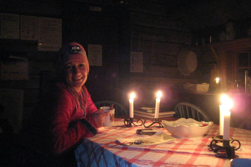 Hyttekos på Orkelsjøhytta etter en 5 timers gåtur fra Oppdal [randisoelm@hotmail.com, 90970939]