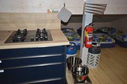 Det er kjøkken på hemsen også - Foto: