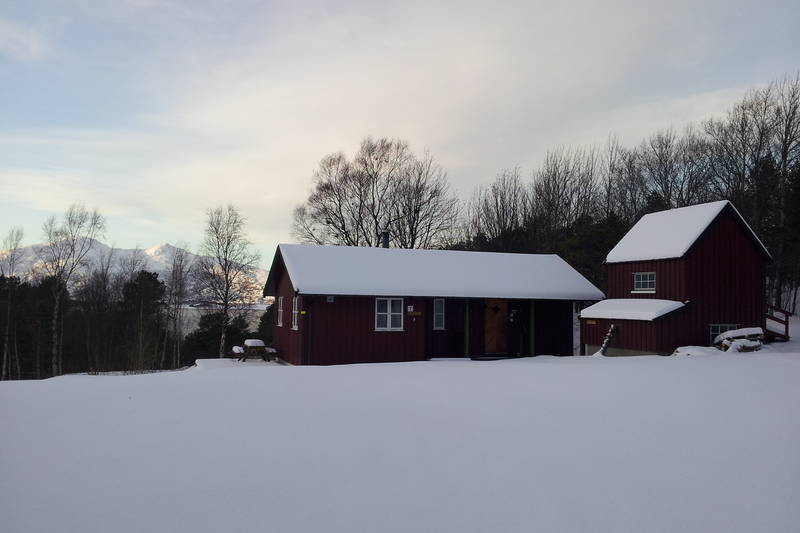 Kårstua en fin vinterdag
