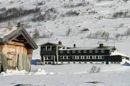 Gjendesheim fra Jo-bua - Foto: Kjell Hertaas.