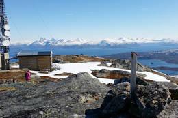 Klippetanga på toppen - Foto: Kjell Fredriksen