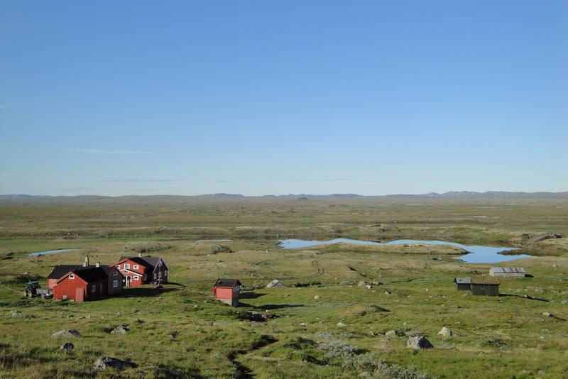 Stigstuv, Hardangervidda