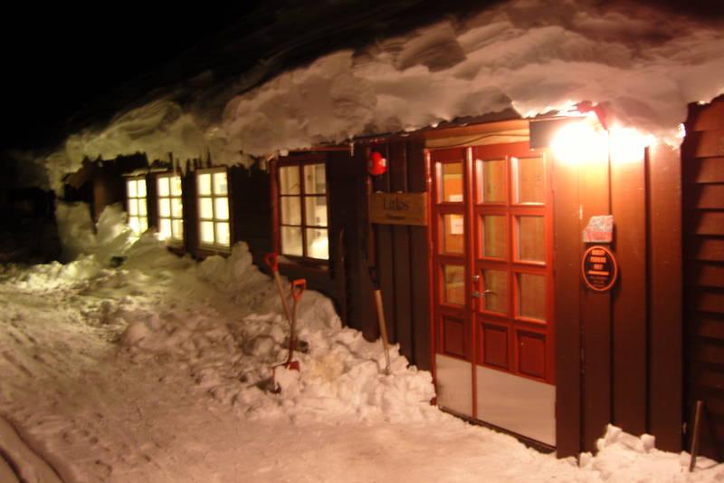 Litlos ligger i et snørikt område, vest på Hardangervidda.