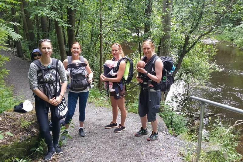 Meisetur langs Lysakerelva med Bærum Turlag sommer 2016