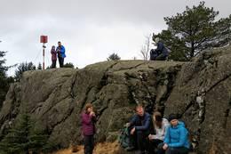 Pause ved Orkjå -  Foto: Audhild Sannes