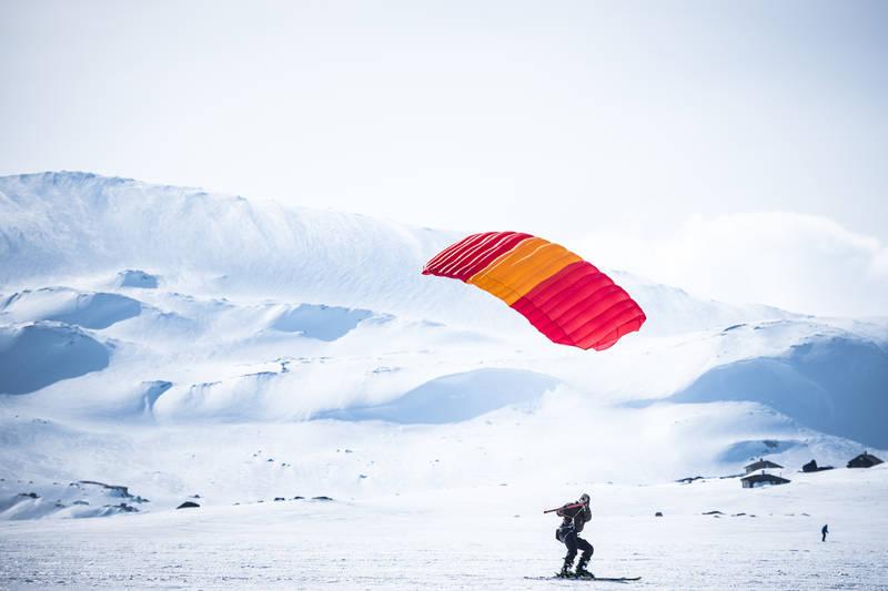 Kiting ved Finsehytta