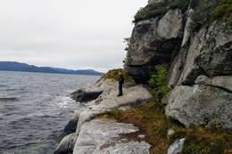 Sikring på utsatte steder - Foto: Harald Atle Oppedal