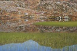 Blomstølen med Blomstølvatnet i forgrunnen. Her er det bra med fisk. - Foto: Lars Kr. Gjerde