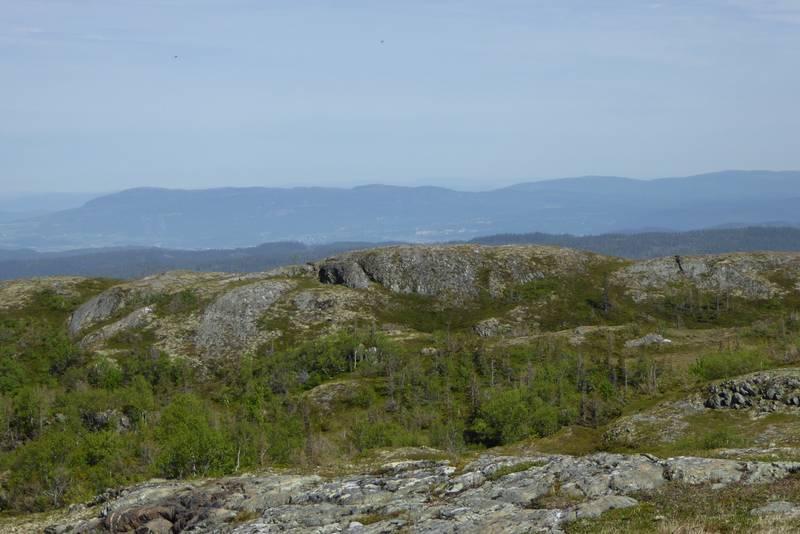 Nordvest for Baklifjellet (625 moh.)