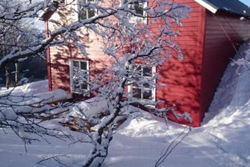 Ein snørik vinterdag på Knekkevasshytta