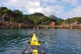 Ved Guvåghytta, stemt frem som Norges vakreste kysthytte på UT.NO i 2014 -  Foto: Truls Johnsen