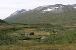 Hytte/seter mellom Jøldalshytta og Gjevilvasshytta - Foto: Torfinn Evensen
