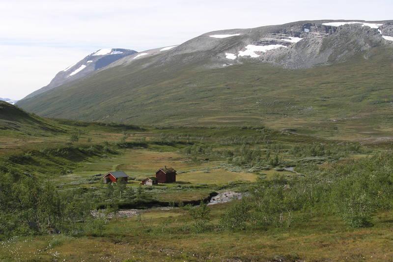 Hytte/seter mellom Jøldalshytta og Gjevilvasshytta