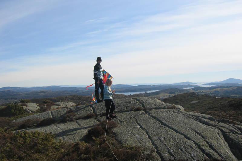 f78d10e6c Tronefjell(151 moh.) og Spannavarden (146 moh.) - Høyreiste topper i ...