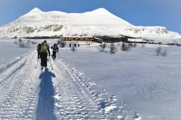 på tur frem til Breisjøseter - Foto: