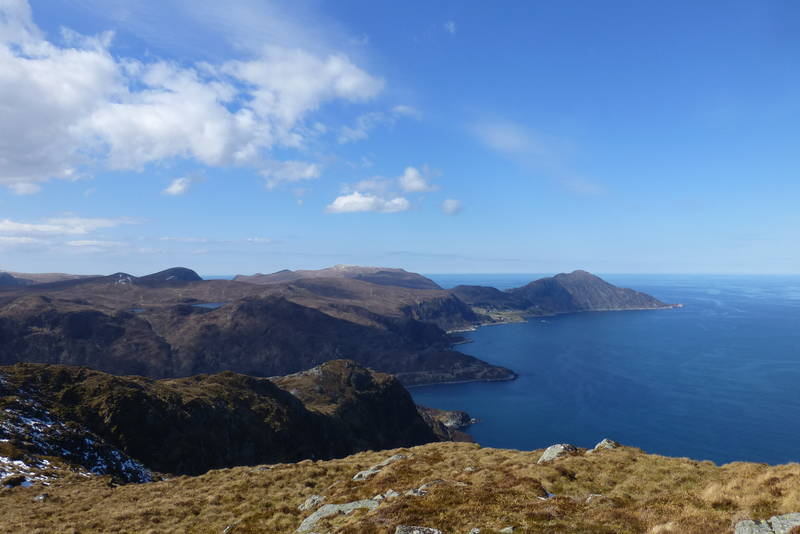 Utsikt mot Stadhavet og Stadhalvøya
