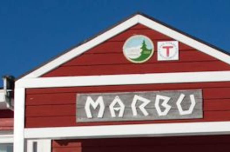 Isolveggen på Mårbu turisthytte.