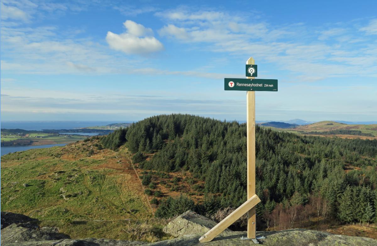 Rennesøyhornet 234 moh