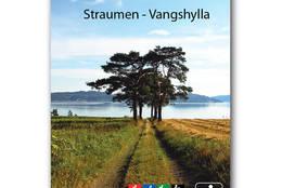 Det er laget et eget vandrekart for stien. - Foto: Kathrine Kragøe Skjelvan