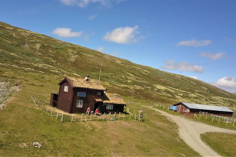Orkelsjøhytta er TTs høyeste beliggende hytte 1080 moh
