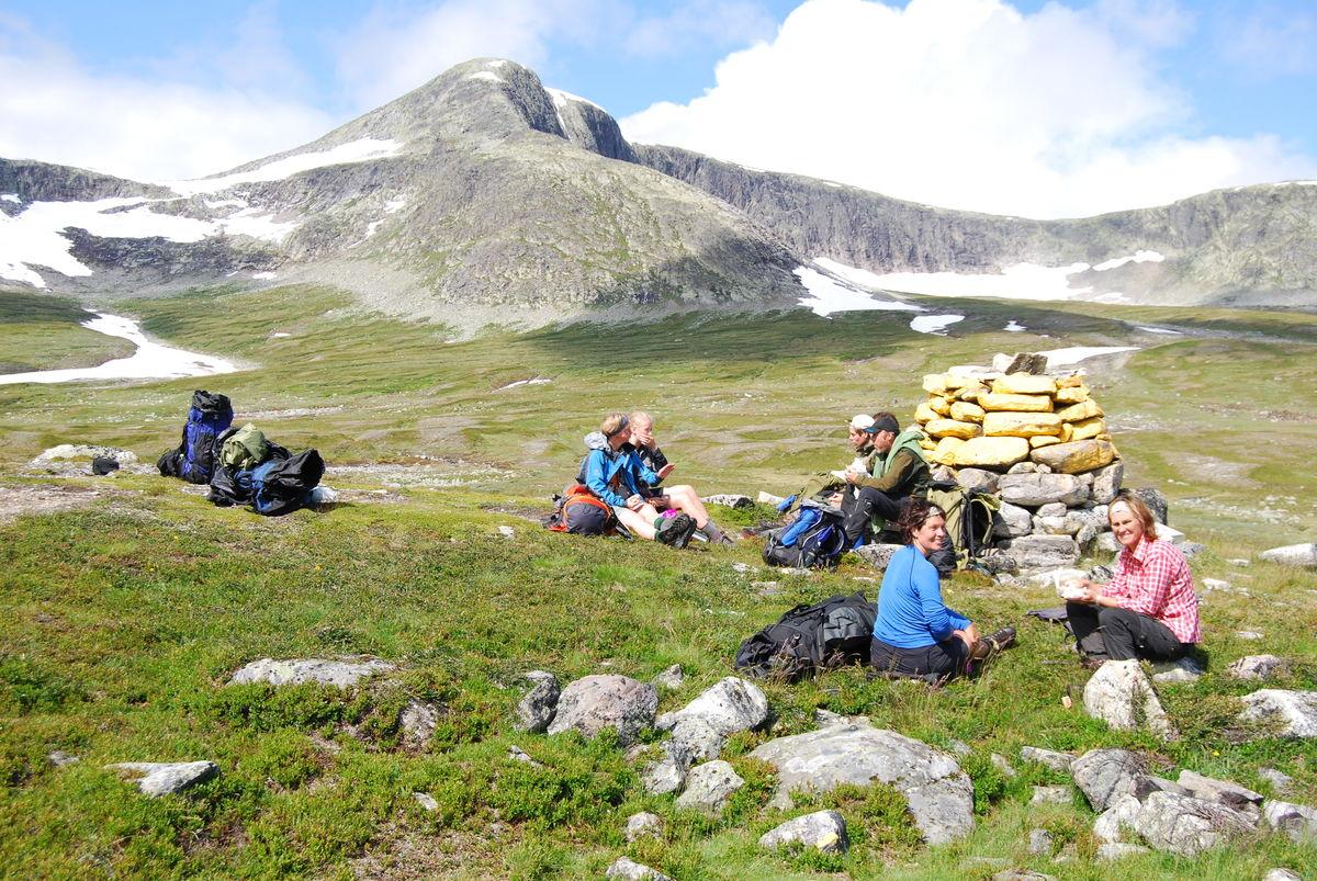 Dag 7: Fra Nedalshytta til svenskegrensa er det bare noen km, men turen kan forlenges til Stuggudal om ønskelig.